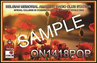 QSL-ON4HRT-ON1418POP-ON6DSL
