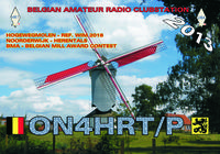 QSL ON4HRT-P HOGEWEG MOLEN-ON6DSL
